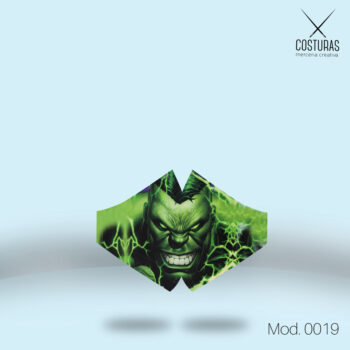 Mascarilla Higiénica Hulk